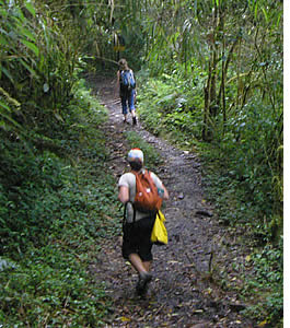 Hiking the Quetzal's Trail from Boquete to Cerro Punta has its advantages